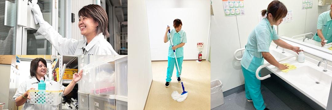 日常清掃請負管理 五代産業株式会社 兵庫県尼崎市