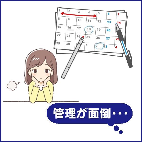管理が面倒・・・ 五代産業株式会社 兵庫県尼崎市