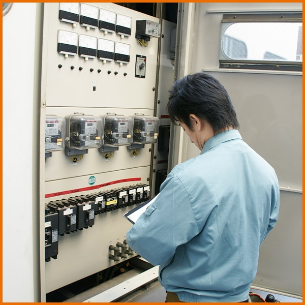 消防専用電気回路点検|五代産業株式会社|兵庫県尼崎市